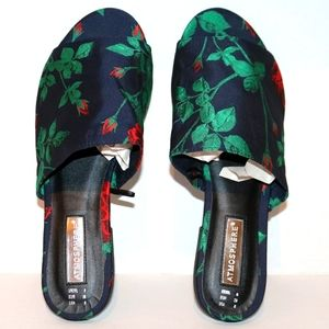 NEW Primark Atmosphere Roses flats size 8
